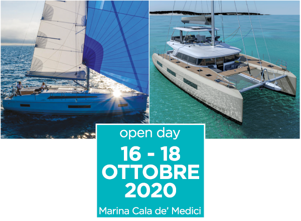 Book your visit on board at our Open Day in Tuscany!